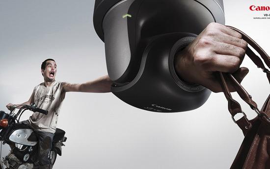 Перейти на Canon Surveillance Camera: Robber