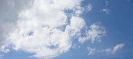 Скачать Текстура облаков и неба