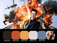 20 цветовых палитр, взятых с насыщенных HDR фотографий Dave Hill