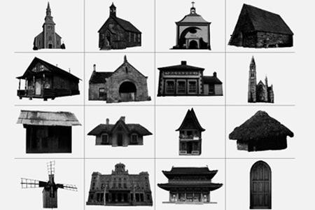 Скачать Architecture Brushes
