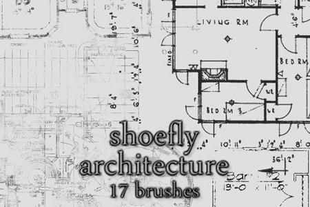 Скачать Architecture brush set
