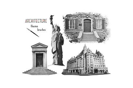 Скачать PS Brushes - Architecture