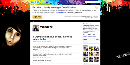 Перейти на @Wardere