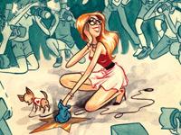 Странный поп-юмор на рисунках застенчивого иллюстратора Julian Callos