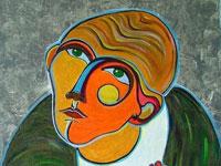 Примеры наивного искусства в исполнении современных художников