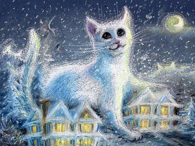 Луканова Инна. сНежный кот