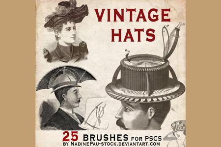 Скачать vintage hats 25 bruses