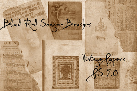 Скачать Sangre s Vintage Papers