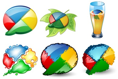 Скачать Google Buzz Icons By Iconshock