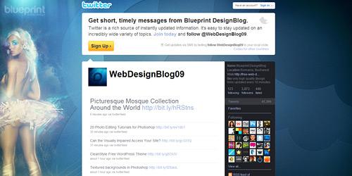 Перейти на @WebDesignBlog09