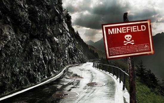 Перейти на IG Motorrad: Landmines