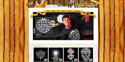 Перейти на Chop Shop Store