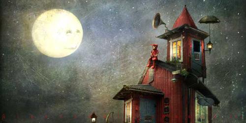 Перейти на Her only friend The Moon