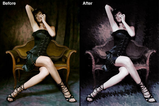 Создаем в фотошопе оригинальный гранжевый эффект для фотографии