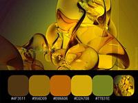 20 цветовых палитр, взятых с красочных работ дизайнера Ramiro Fernandez