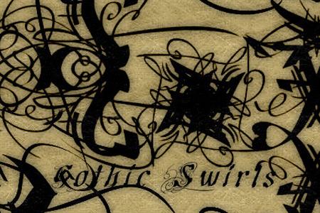 Скачать Gothic Swirls