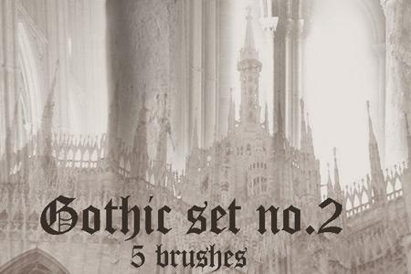 Скачать Gothic Brush Set