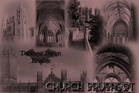 Скачать Castle Church Brushes