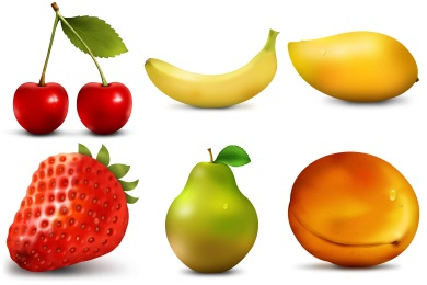 Скачать Paradise Fruits Icons By Artbees