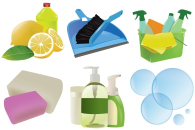 Скачать Cleaning Icons By Skuzigraphic