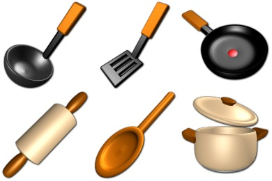 Скачать Virtual Kitchen Icons By Sirea