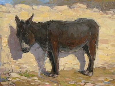 Макаров Виталий. Боргустанский ослик