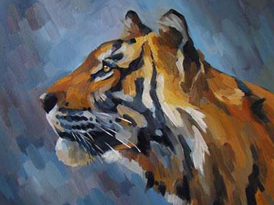 Чижова Виктория. Взгляд тигра