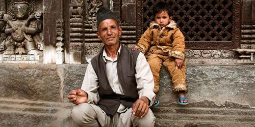 Перейти на Pagoda Steps, Nepal
