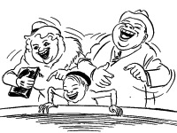 Херлуф Бидструп о карикатуре, политике, творчестве и экспериментах