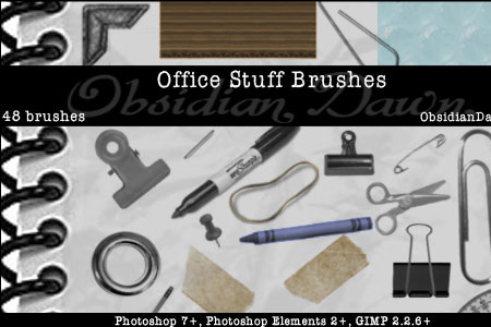 Скачать Office Stuff Brushes