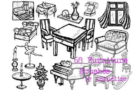Скачать 68 Furniture Brushes