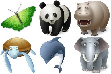 Скачать Animals Icons