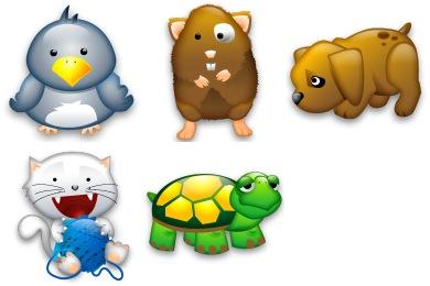 Скачать Tiny Animals Icons