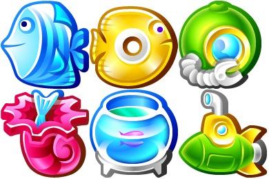 Скачать Underwater Icons