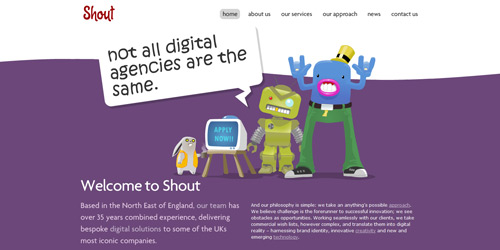Перейти на Shout Digital