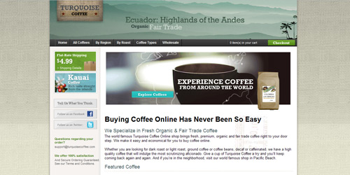 Перейти на Turquoise Coffee