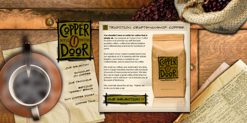 Перейти на Copper Door Coffee