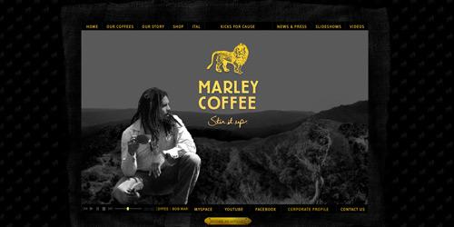 Перейти на Marley Coffee
