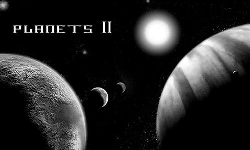 Скачать Planets II Photoshop Brushes