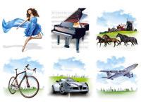Скачать бесплатно 20 наборов иконок разнообразной тематики за июнь