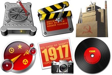 Скачать Soviet Icons By Iconcubic