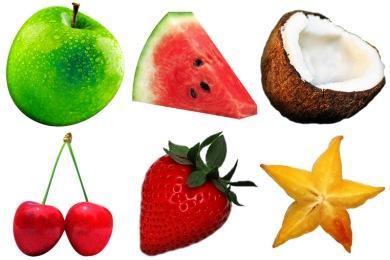 Скачать Fruitsalad Icons By Fi3ur