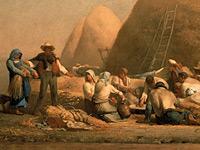 Крестьянский быт и деревенские пейзажи от Жан Франсуа Милле