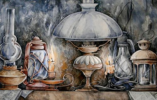 Работы Марии Каминской