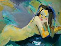 Эротические работы в стиле ню в исполнении современных художников