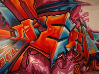 Занимательное оформление ванных комнат от граффити-райтера Decktwo
