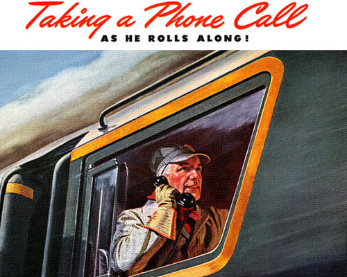 Перейти на Pennsylvania Railroad, 1945