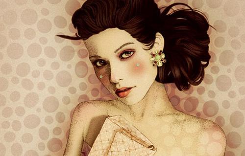 Работы Elodie Nadreau