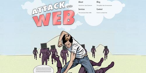 Перейти на Attack Of The Web