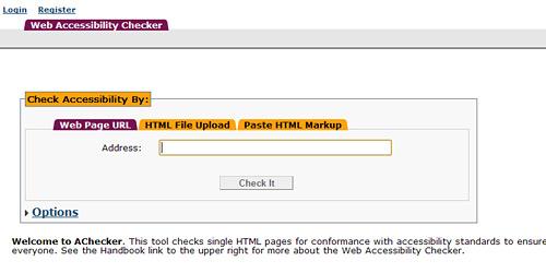Перейти на Accessibility-Checker